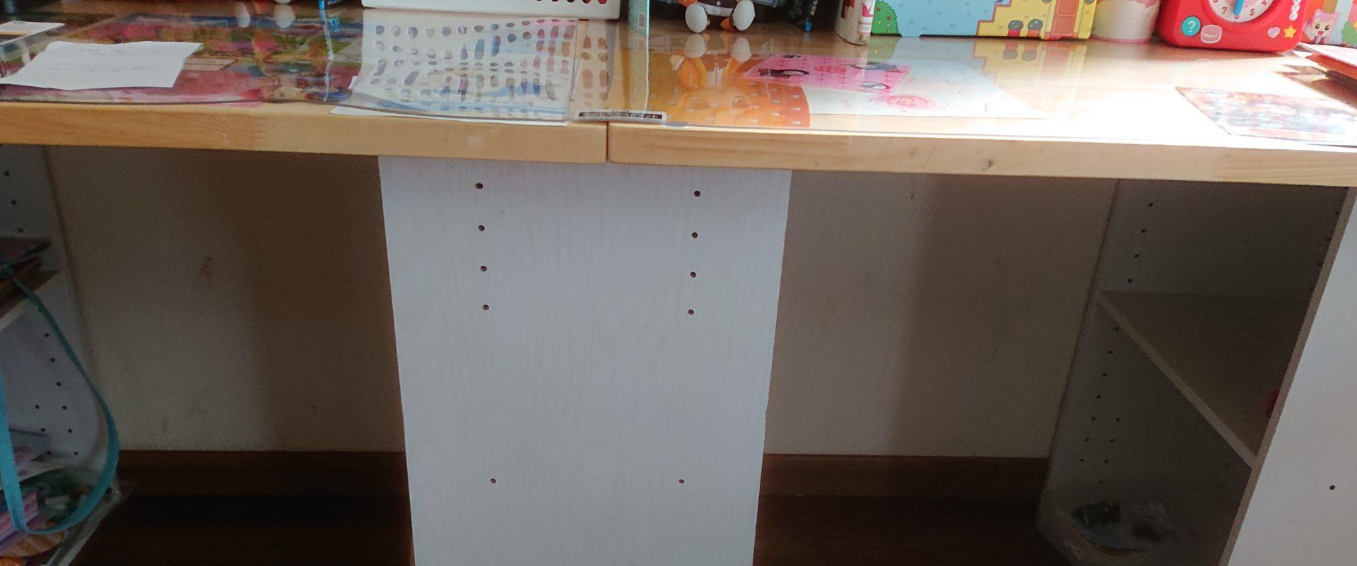 カラーボックスで子供机を作る3つの手順